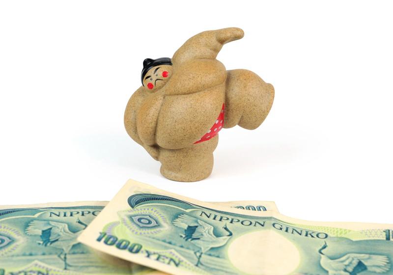 力士とお金